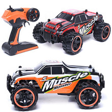 High Quality 83599 2 4G High Speed Monster Truck Remote Control Car Toy Wholesale Free Shipping