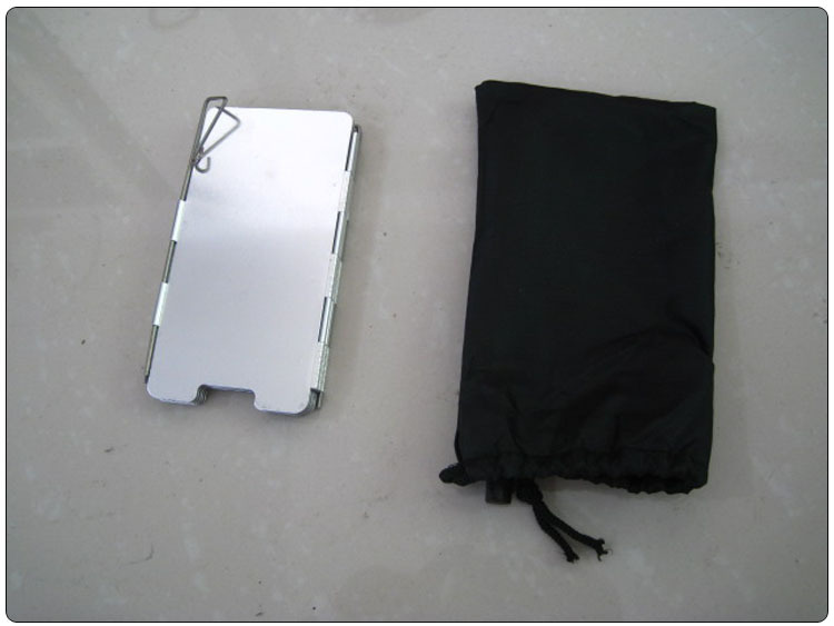 9 Plates Foldable Outdoor Camping Cooking Cooker Gas Stove Wind Shield Screens Windshield AT6368