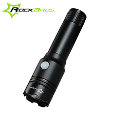 RockBros USB Rechargeable MTB Bicycle Lights Road Bike Front Head Torch Flash Lights Waterproof LED Light Cycling Accessories