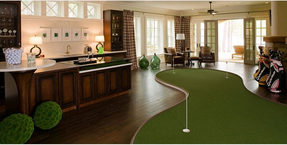Build A Synthetic Golf Greens At Your Backyard