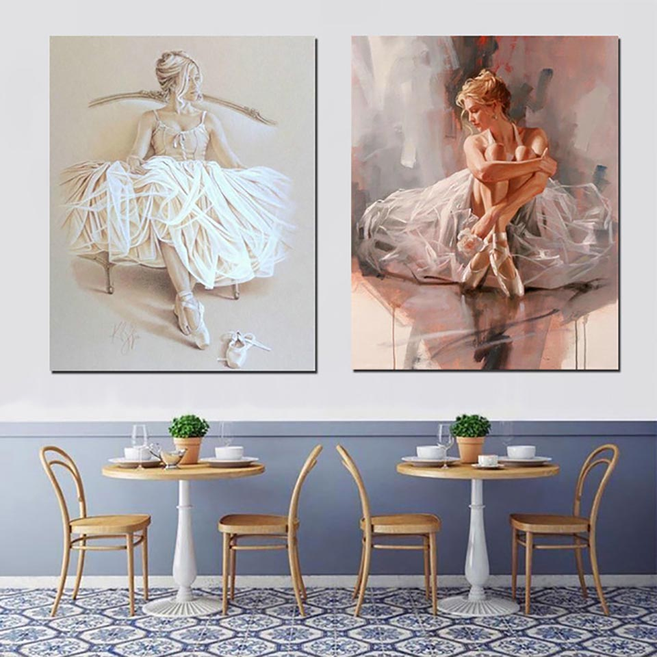 Arts,crafts & Sewing Needle Arts & Crafts Rapture 5d Diy Diamond Wall Embroidery Ballet Girl Painting Sticker Picture Full Square Drill Cross Stitch Bead Work Home Decoration Reliable Performance