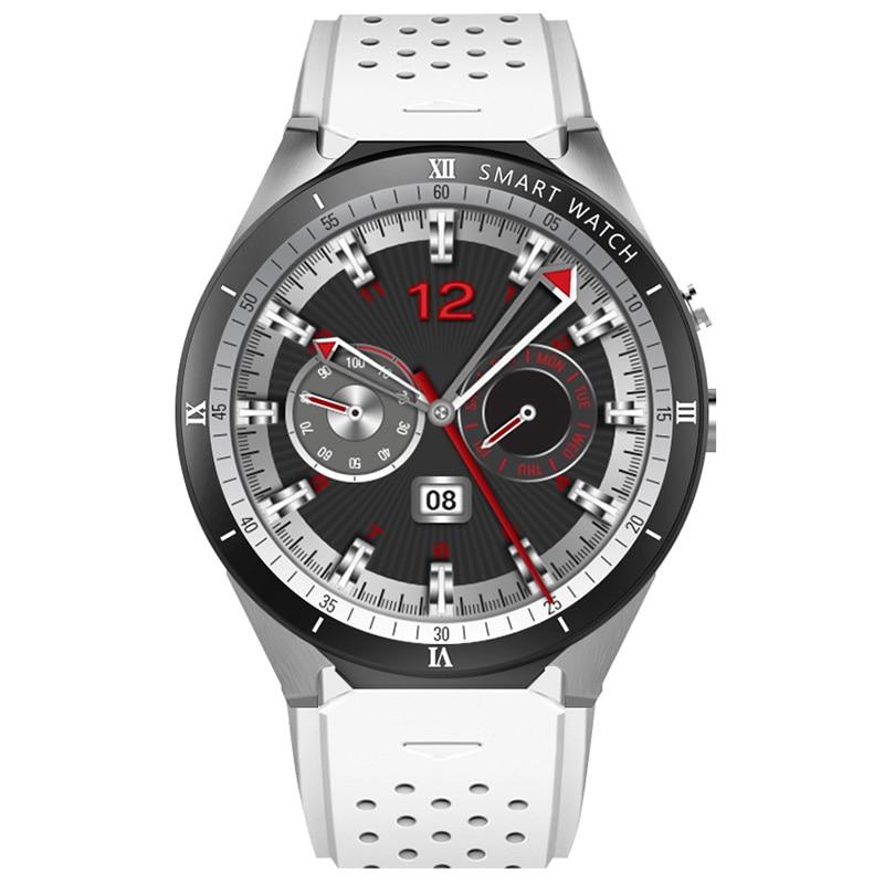 KingWear KW88 Pro 3G Smartwatch Phone 1.39 Inch Android 7.0 MTK6580 Quad Core 1.3GHz 1GB RAM 16GB ROM Smart Watch цена