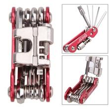 11 in 1 Portable Multifunction Bicycle Repair Tool Kit MTB Mountain Bike Reparing Gadget Set Steel Cycling Multi Repair Tools