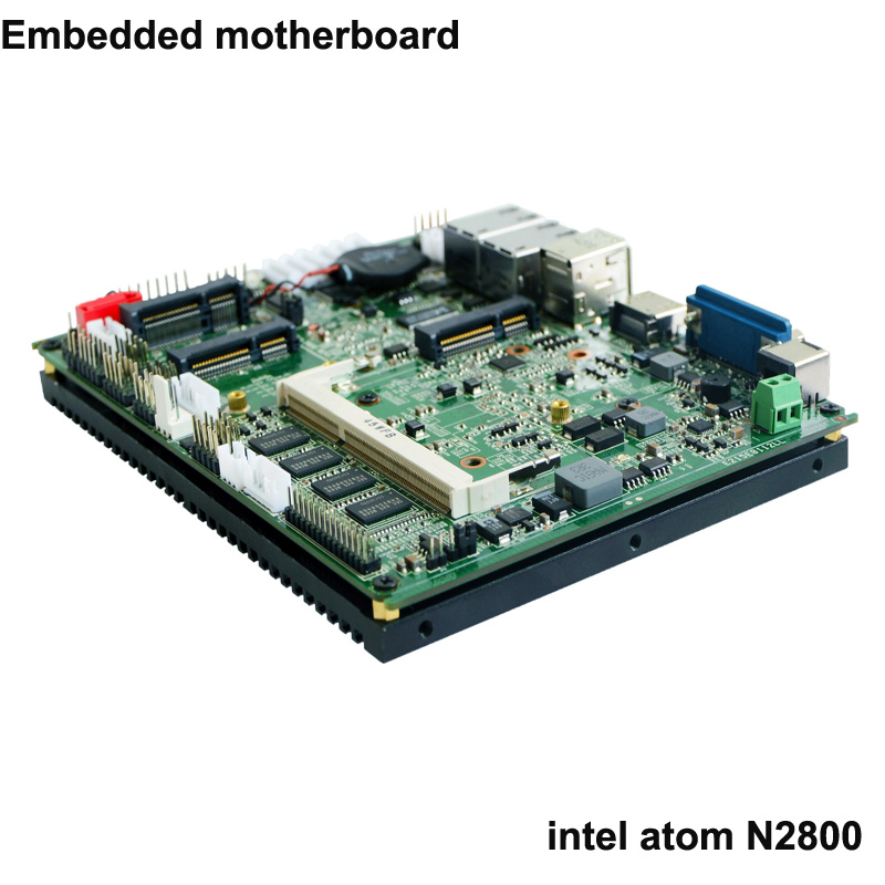 Industrial Motherboard 1.86GHz Processor And Intel Atom N2800 Mini Itx Motherboard For Embedded Computer