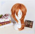 Anime Bungo Stray Dogs Chuya Nakahara Chuuya Cosplay Wig Brown Orange Heat Resistance Fibre Free Shipping