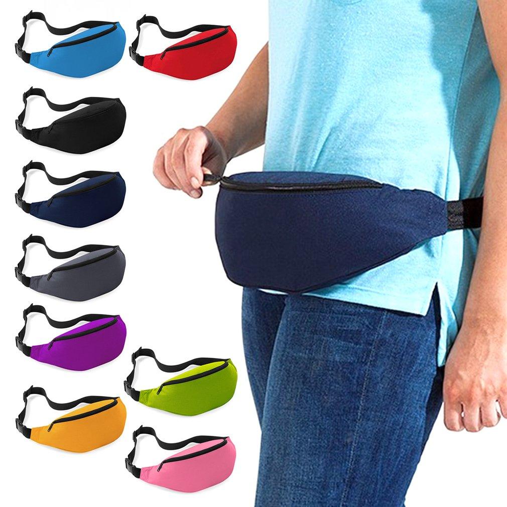 9 Colors Outdoor Sports Running Jogging Waist Bag Waterproof Phone Waist Belt Pack Fitness Waist Belt Wallet Pocket Travel Bag