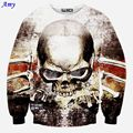 [Amy]  Harajuku style new fashion men/women 3D sweatshirt print skull galaxy pullover hoodies autumn tops clothes WY25