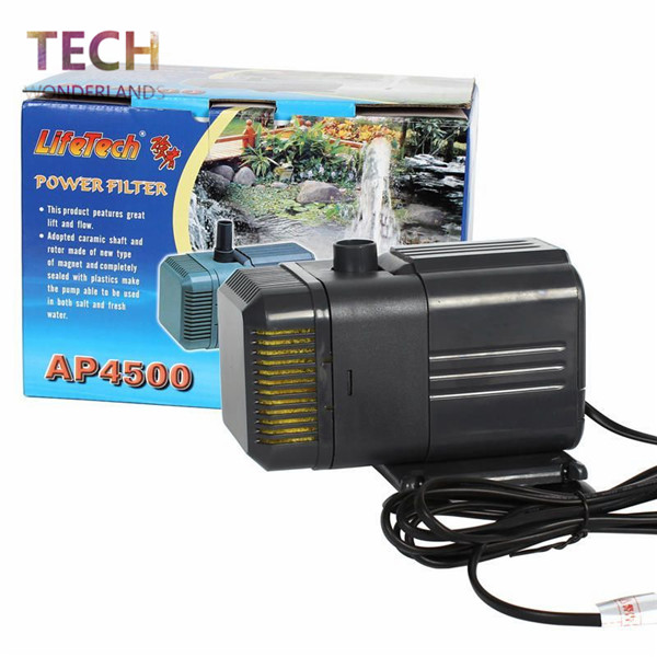 Aquarium submersible pump filter pump fish tank water pump for Submersible pond pump and filter