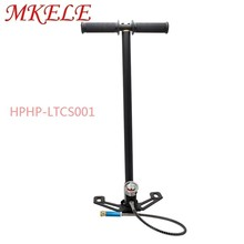 Hand Pump 4500psi 30mpa Air High Pressure Pcp For Paintball 3 Stage Stainless Portable Mini Car Bicycle
