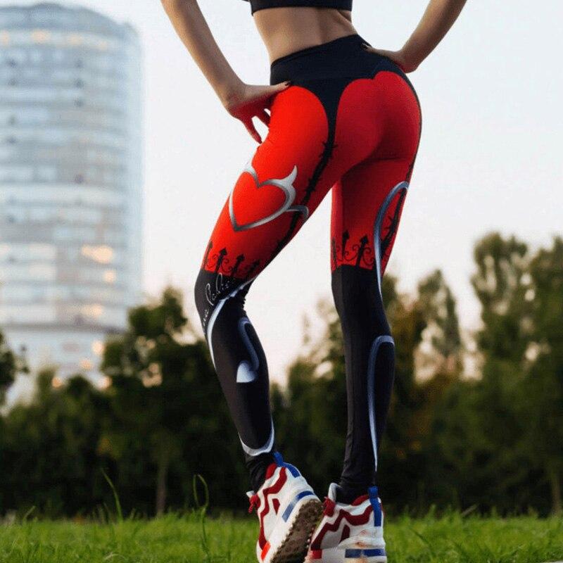 Compression Legging Trousers Capri-Pants Dance-Wear Running Tight Sports Womens Bottom