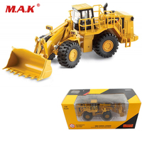 Cheap Alloy Diecast 1:64 Bulldozer 988H Wheel Loader Engineering Vehicle Model Car Toys 55222 Kids Toys for Fans Collection Gift