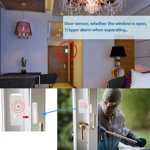 Image 3 - WiFi 433mhz While Wireless Smart Open Window  to Home Alarm App Notification Alerts