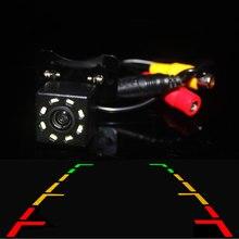 Car Rear View Camera Backup HD 8 LED Hight Vision Waterproof Reverse image for Parking Car DVD Monitor Mirror GPS Player