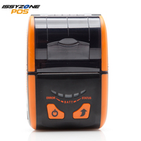 ISSYZONEPOS 58mm Bluetooth Android iOS Mobile Thermal Pinter Mini Receipt Barcode Logo Order Printer Wifi USB Loyverse Delivery