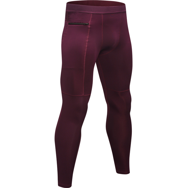 New Zipper Pocket Sport Pants For Men 4