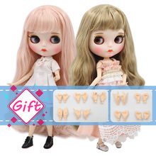 1/6 bjd ICY factory blyth doll bjd joint body white skin bjd 30cm new matte face Carved lips with eyebrow customized face(China)