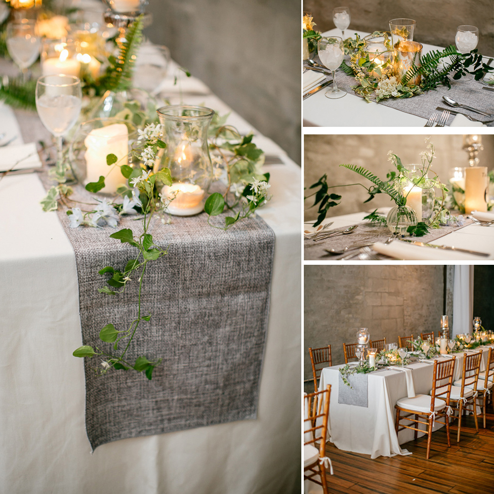 Gray Table Burlap Natural Runner Jute Imitated Linen
