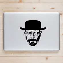 Breaking Bad Heisenberg Laptop Decal for Apple Macbook Sticker Pro Air Retina 11 12 13 15