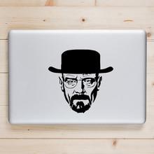 Breaking Bad Heisenberg Laptop Decal for Apple Macbook Sticker Pro Air Retina 11 12 13 15 inch Mac Book Skin Notebook Sticker