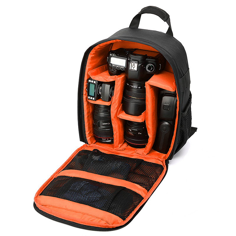 2017 Multifunctional women and mens Shockproof Waterproof Camera Bag backpack Professional Digital Photo Bag Photos Bags Canon