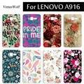 Alta calidad diy plástico de color cáscara del teléfono case para lenovo a916 un 916 case cubierta del teléfono móvil para lenovo a916 a 916 funda capa