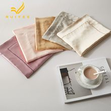 19m/m Envelope pillow case Single side mulberry Silk Pillow RUIYEE brand Satin Cover 100%