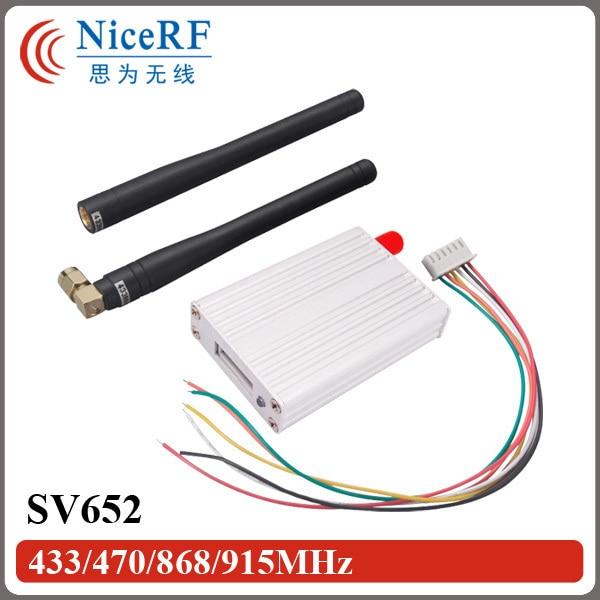 2sets 500mW 3km distance radio modem SV652 rs232 wireless data transceiver modules
