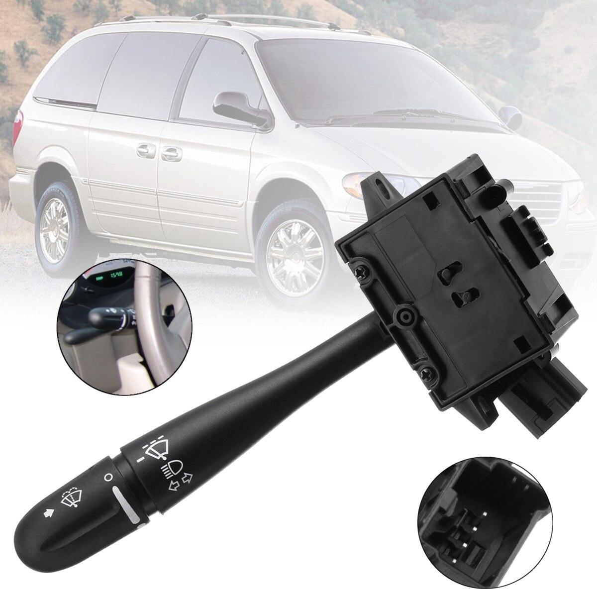 Steering Column Turn Signal Headlamp Switch Wiper Blade Unit For Dodge Grand Caravan Chrysler Voyager 2003 2004 2005 2006 2007 dacute пальто