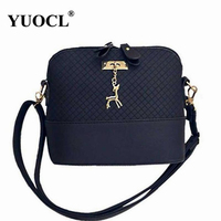 Shoulder Crossbody Bags For Women Leather Luxury Handbags Women Messenger Bags Designer Famous Brands 2017 Vintage