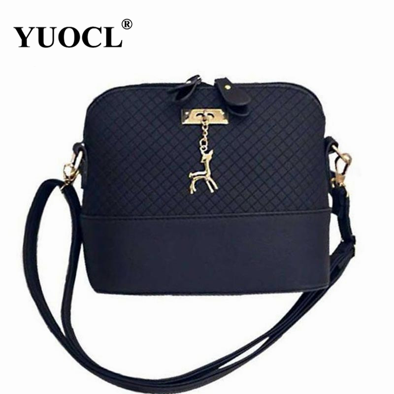 купить Shoulder Crossbody Bags For Women Leather Luxury Handbags Women Messenger Bags Designer Famous Brands 2017 Vintage Sac a Main недорого
