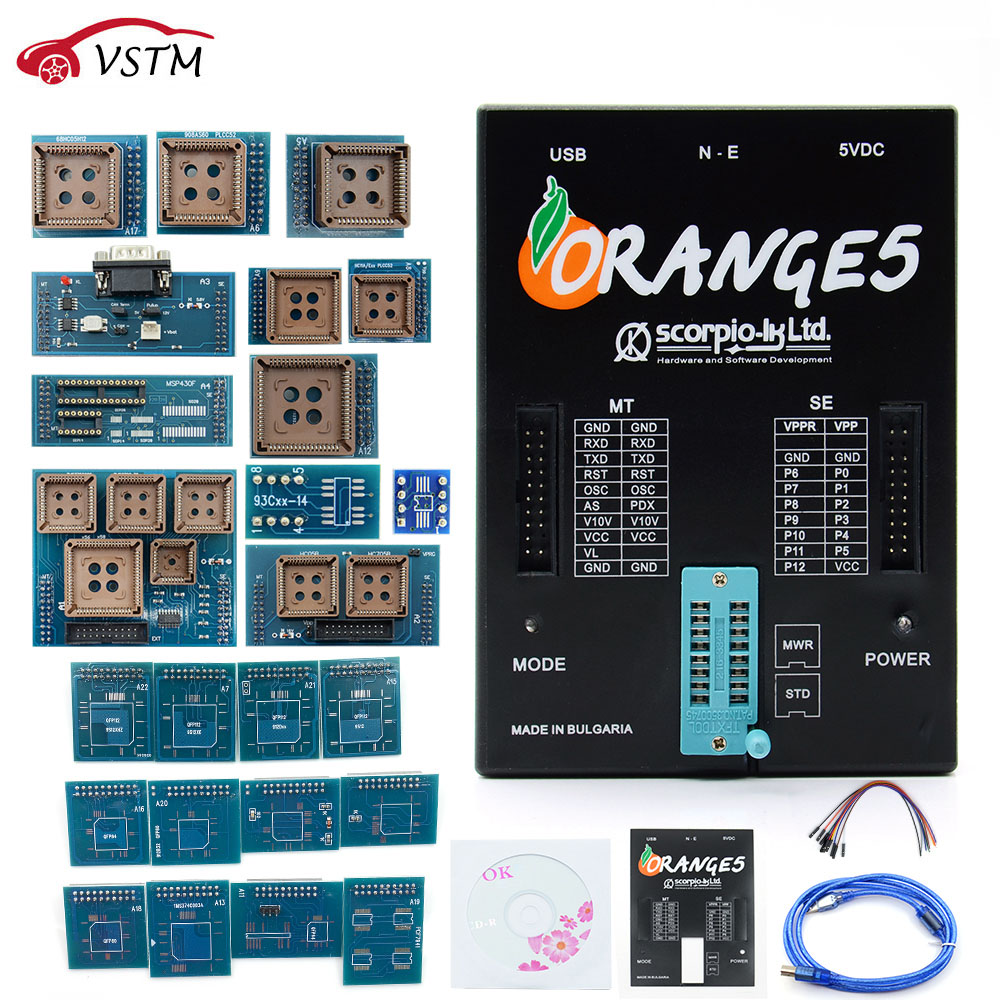 VSTM OEM Device With orange5 adapter Packet Hardware Enhanced Function Software