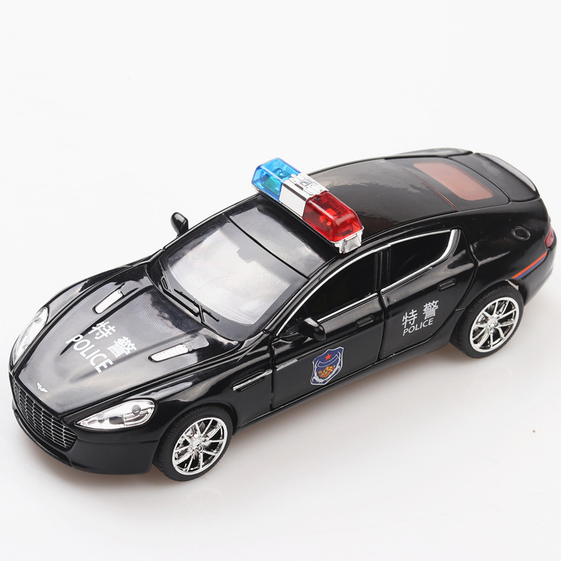 1:32 Aston Martin special vehicle Child pull-back simulation alloy car model crafts decoration collection toy tools