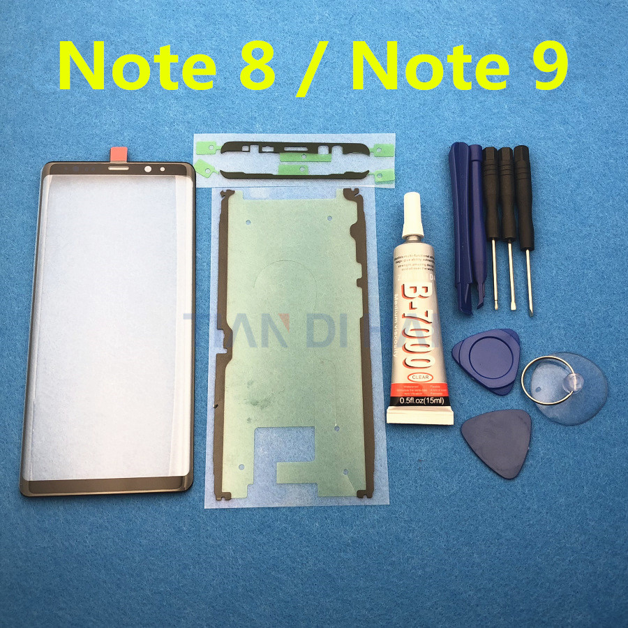 Touch Panel For Samsung Galaxy Note 8 N950 SM-G950F Note 9 N960 SM-N960F Front Screen LCD Glass Lens Outer Glass Replacement