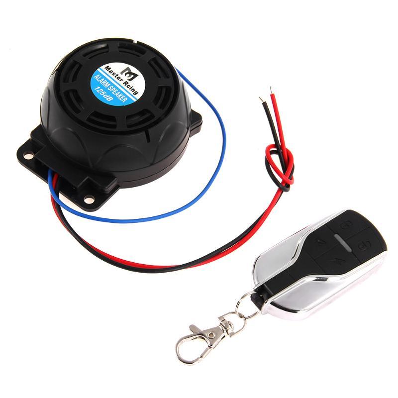 Motorcycle Anti-theft Security Alarm System Burglar Alarm Remote Control