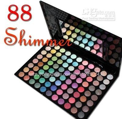 88 Piece Ultra Shimmer Palette Eyeshadow Cosmetic 01