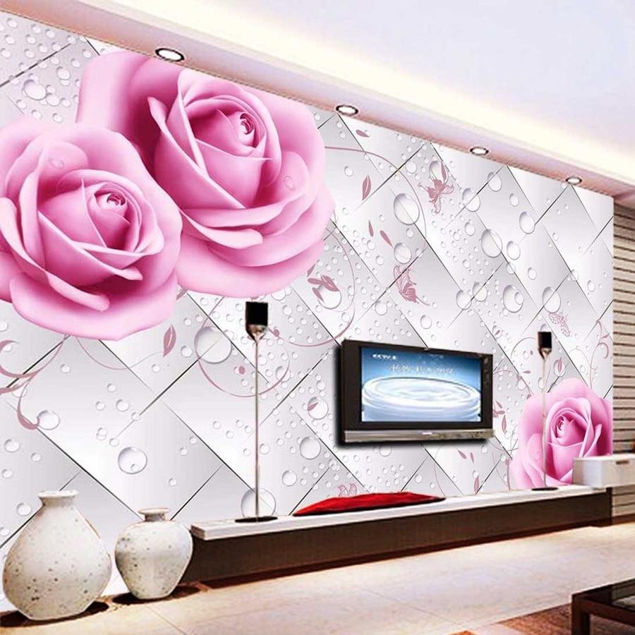 Online Get Cheap Pink Wallpaper Flower Aliexpresscom Alibaba Group