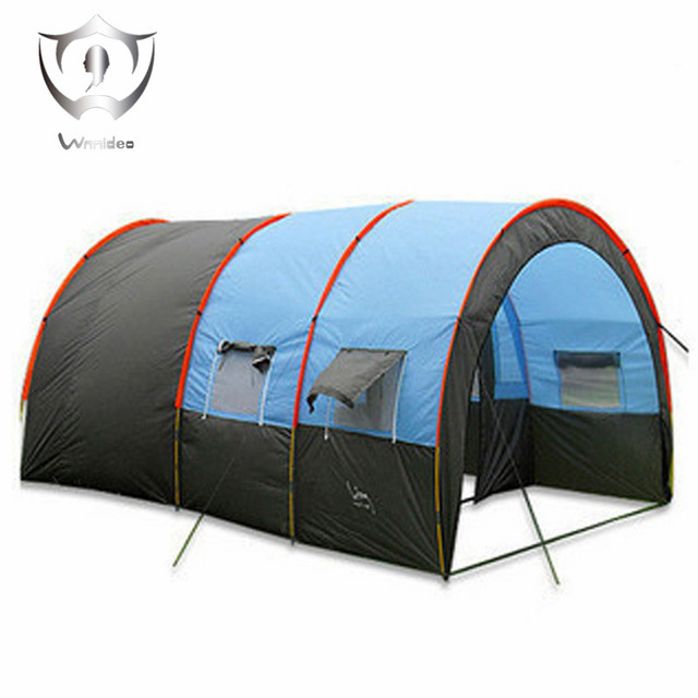 Wnnideo C&ing tent waterproof tunnel with foyer 4 - 6 man persons  sc 1 st  AliExpress.com & Wnnideo Camping tent waterproof tunnel with foyer 4 6 man persons ...