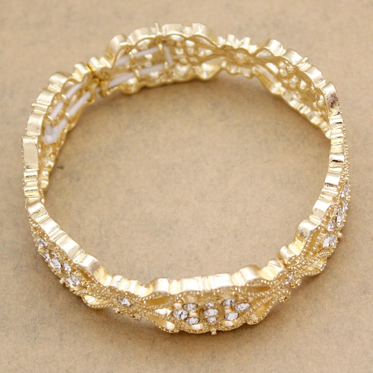 Art Deco 1920s Accessory Flapper Costume Flower Austria Crystal Bridal Cuff Silver Bracelet Bangle Gift Girl Jewelry
