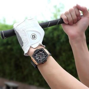 Image 5 - BAOGELA Marke Mode Herren Sport Wasserdicht Kalender Armbanduhr Square Multifunktions Silikon Band Herren Uhr