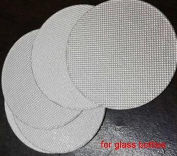 1000pcs 51mm/52mm/53mm/54mm/55mm Aluminum Foil Seal for Plastic Bottle, Induction Alumunim Foil Pads for PET/PE/PP/HDPE/GAKSET