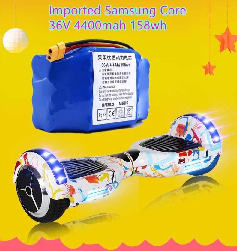 ICL Fabrication pour Samsung 36 V 4.40AH 158wh scooter electrique batterie de scooter électrique Swing de voiture 18650 puissance batterie au lithium pack