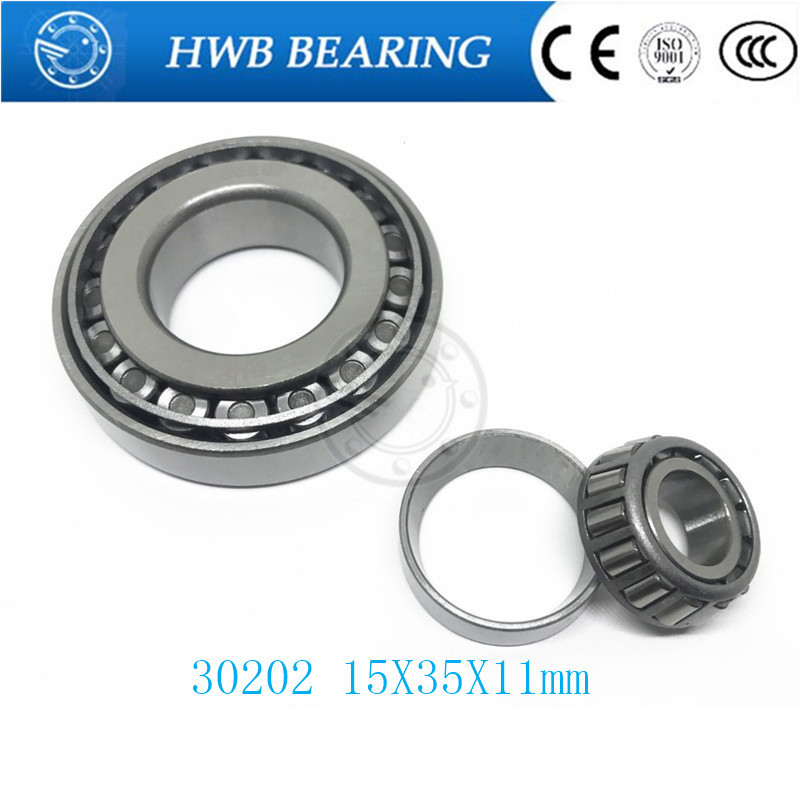 Free Shipping Taper Roller bearing 30202 7202e 15X35X11 mm Tapered roller bearings, single row 15x35x11mm