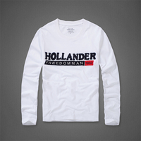Long Sleeve T Shirt Men S Spring And Autumn Round Collar Casual Cotton Full Sleeve Tshirt