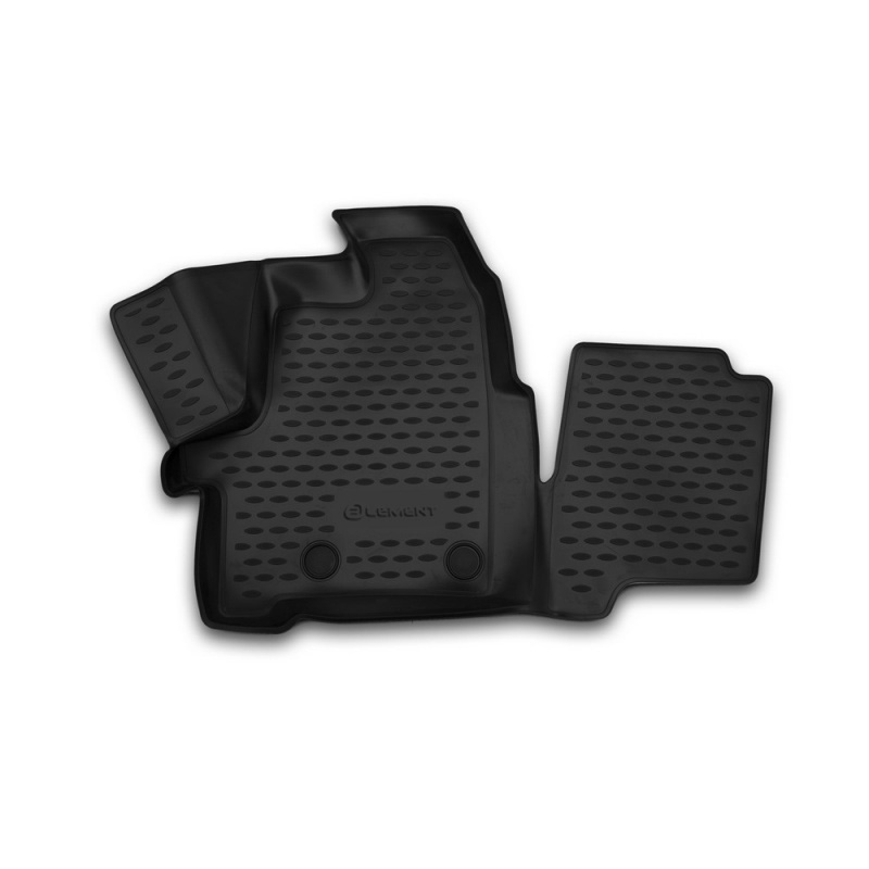 Mat 3D salon For Ford Transit (1 + 2 seats), 2014-2015, passenger, 1 PCs (polyurethane) car mats 3d salon for ford tourneo custom transit custom 1 2 seats 2013 2017 2 pcs