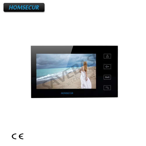 HOMSECUR TM704-B Indoor Monitor For HDW Wired Video Door Phone Intercom System