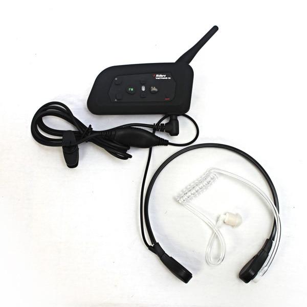2017 New motorcycle V6 helmet intercom Bone conduction headset connect Interphone Headset Headsets Accessories 3.5mm Interface 1000m motorcycle helmet intercom bt s2 waterproof for wired wireless helmet