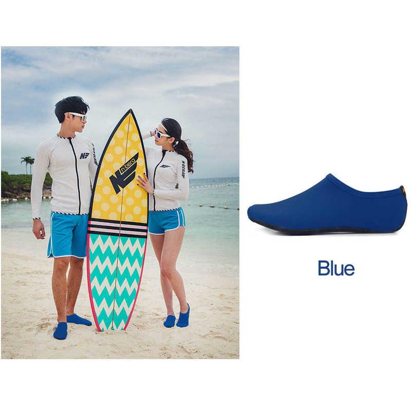 Männer Frauen Wasser Schuhe Schwimmen Schuhe Einfarbig Sommer Aqua Strand Schuhe, Meer Sneaker Socken hausschuhe Für Männer, zapatos hombre