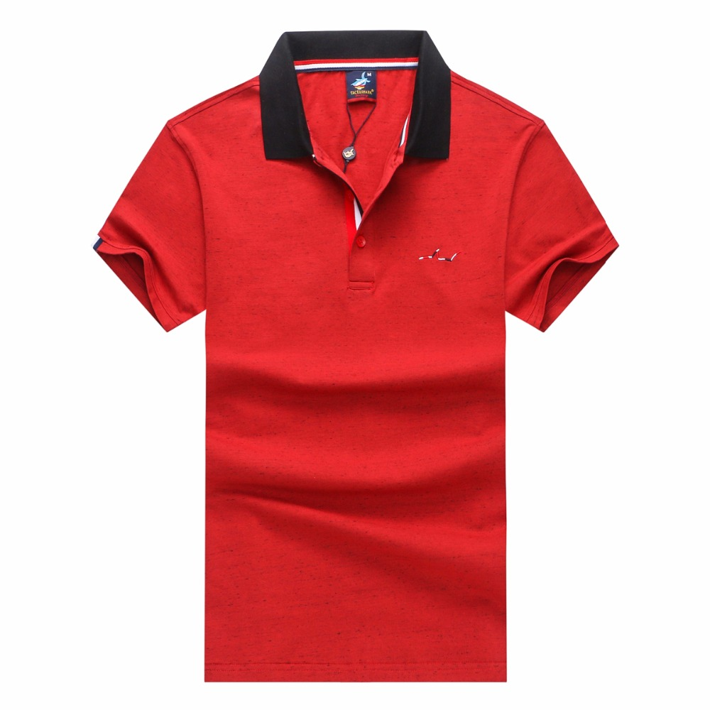 polo shirt men polo men 2018 new Cotton Tace&shark Brands polo shirt man plus size short sleeve polo men shirt
