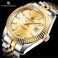 PAGANI PROJETO Marca de Topo Mens Relógios Mecânicos Automáticos Assistir À Prova D' Água Negócio Relógio de Ouro Dos Homens Relógio de Pulso relogio masculino|Relógios mecânicos| |  -