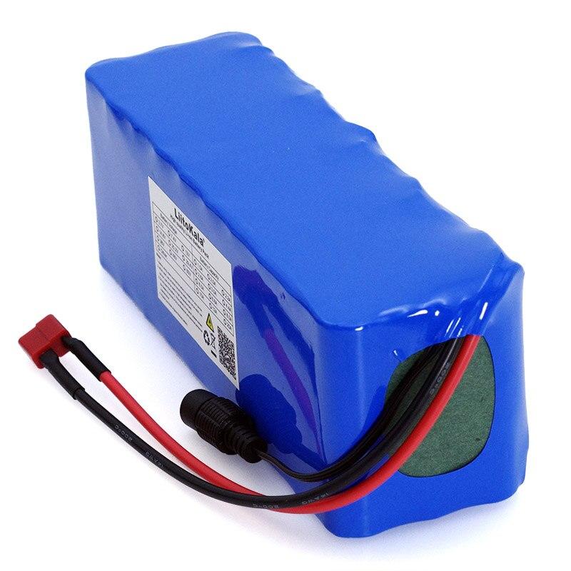 LiitoKala 36 v 10Ah 10S3P 18650 Rechargeable Batterie, Vélos Modifiés, véhicule électrique Chargeur de Batterie li-lon + 2A - 3